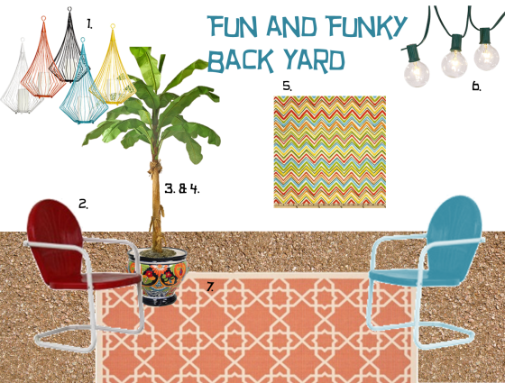 Fun and Funky Back Yard