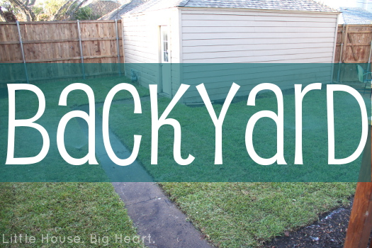 Backyard Project Header