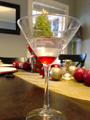 Christmas In a Glass Cocktail Recipe