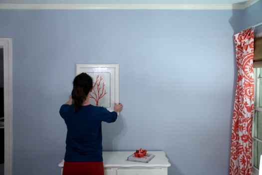 Hanging Art on Plaster Walls