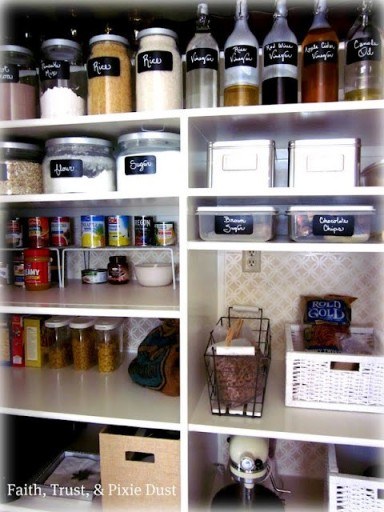 Pantry Organization - Faith Trust & Pixie Dust