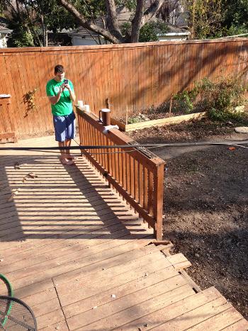 deck hole