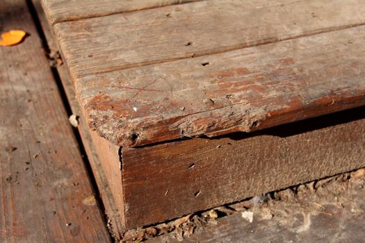 Deck repair replacement