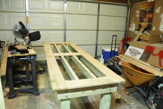 Cedar Outdoor Table