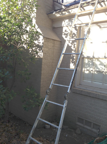 New roof ladder