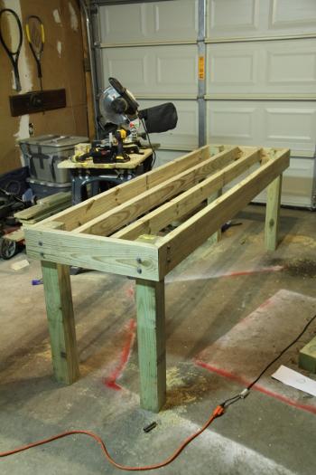 Pine DIY Table Base
