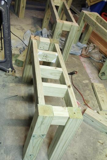 Cedar DIY Outdoor Benches