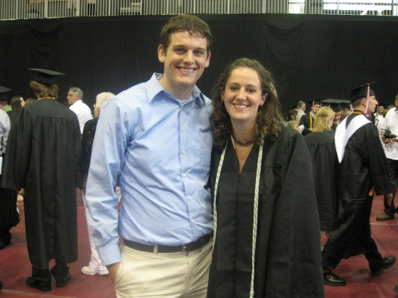 My College graduation (sans goatee)