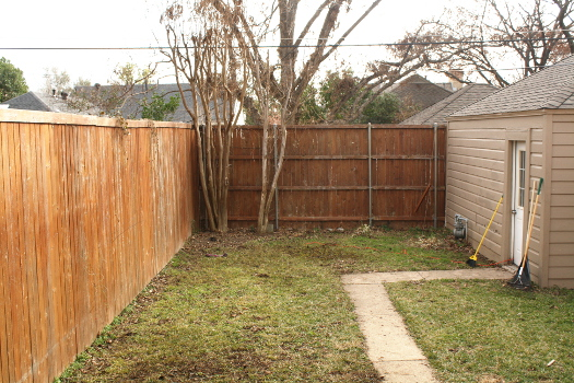 Yard Before
