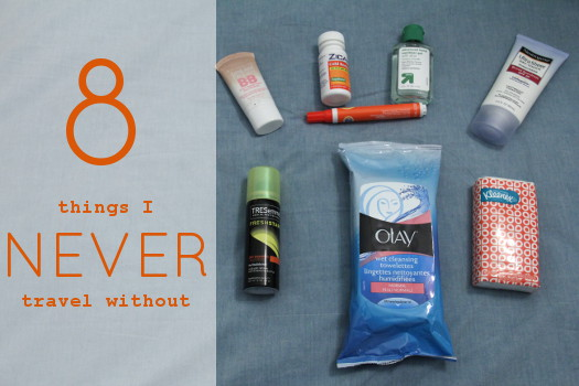 8 things I never travel without