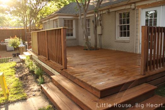 Deck Stain DIY