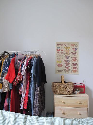 limited clothing storage
