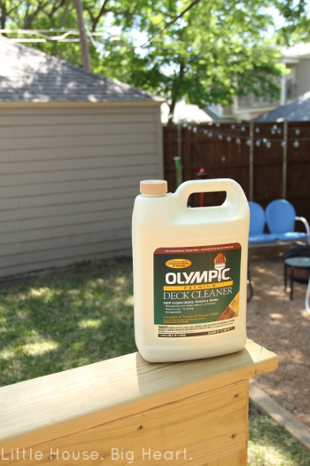 Olympic Deck Cleaner