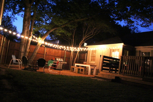 Outdoor Target String Lights Over Patio