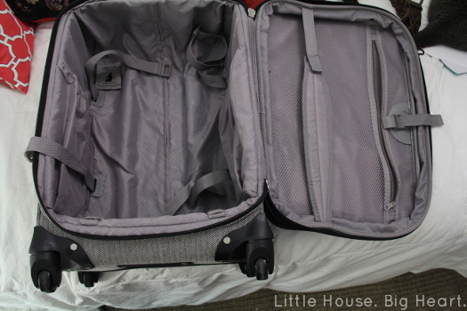 London Fog Carry On Suitcase Inside