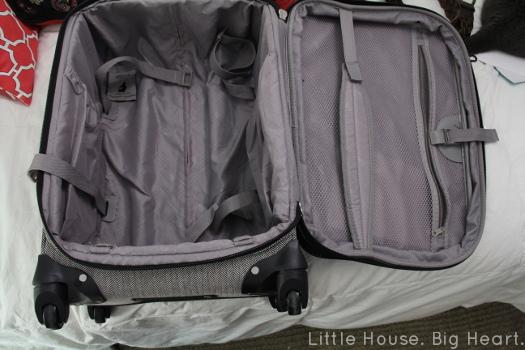 London Fog Carry On Suitcase Inside