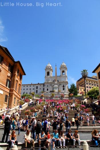 Rome Spanish Steps 1