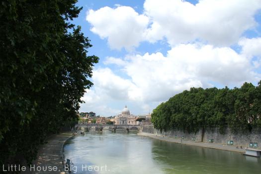 Rome Tiber River 1