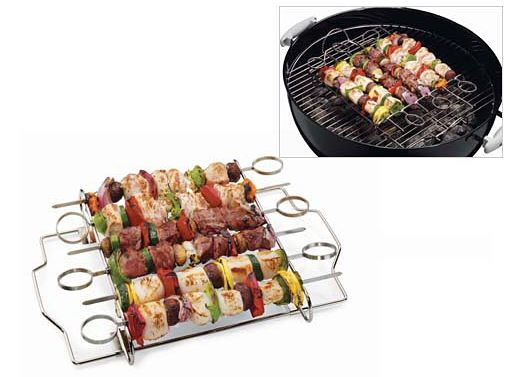 7pc Skewer Set by Weber