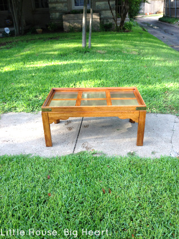 thrift shop coffee table