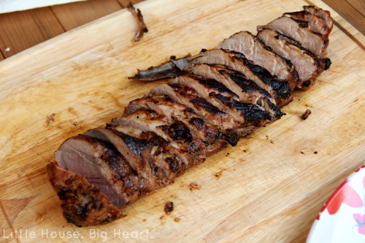 Chipotle Lime Pork Tenderloin